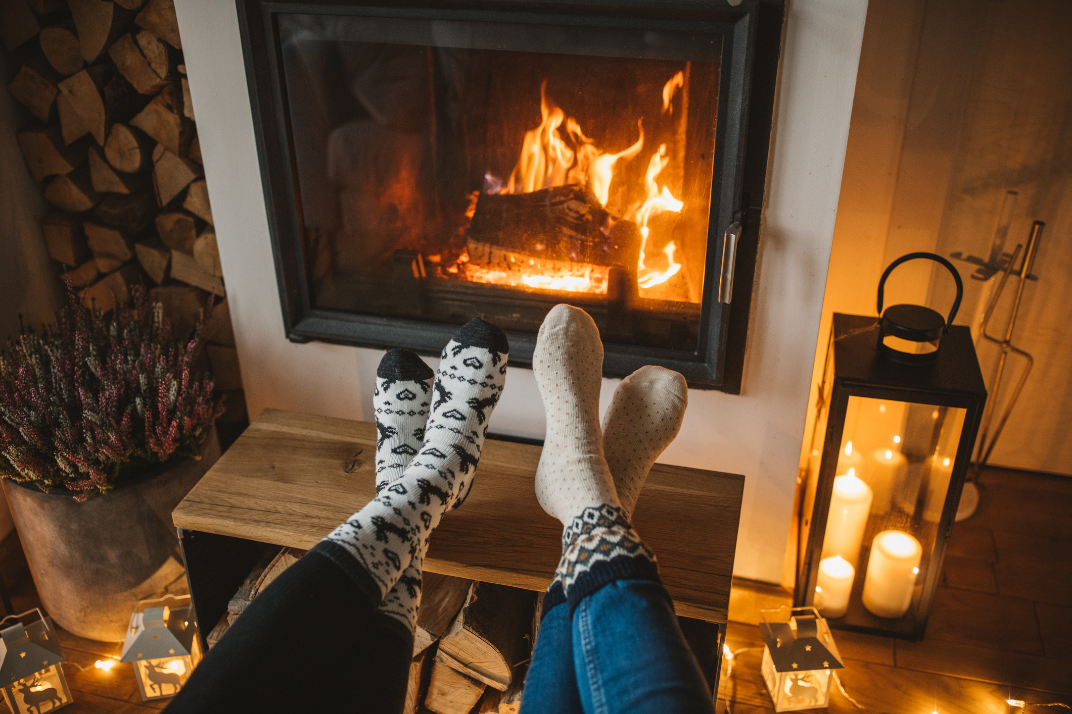 Hygge by the hearth